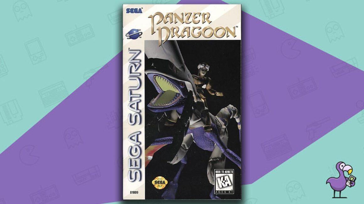 Best Sega Saturn Games - Panzer Dragoon Saga game case cover art