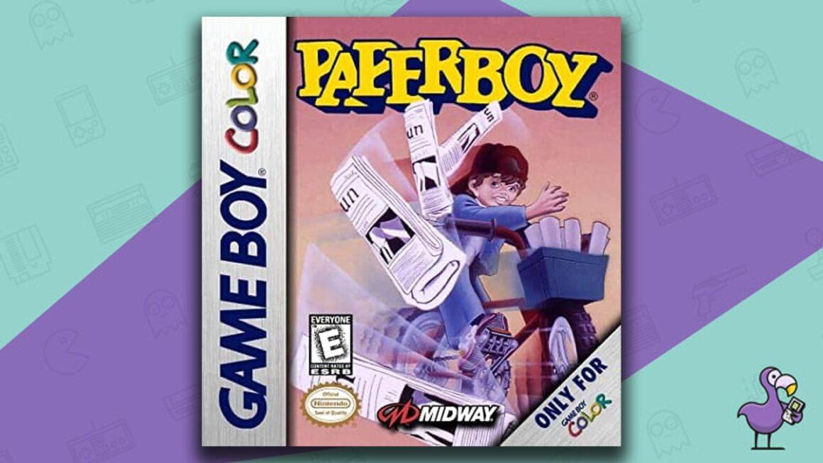 Best Gameboy Color Games - Paperboy game case cover art