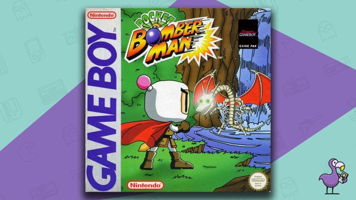 Best Gameboy Color Games - Pocket Bomberman game case cover art