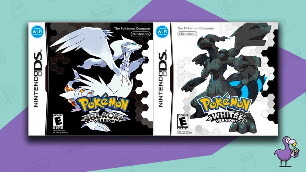 Best Nintendo DS Games - Pokemon Black/White game case cover art