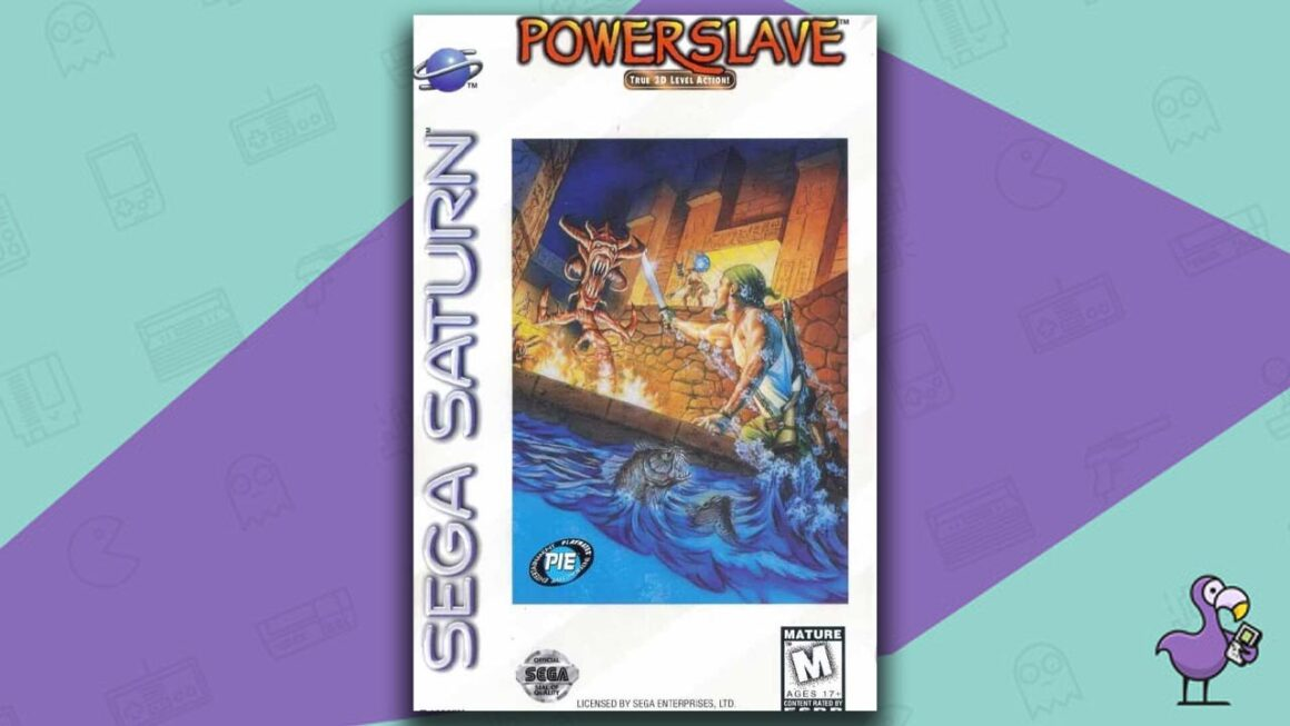 Best Sega Saturn Games - Powerslave game case cover art