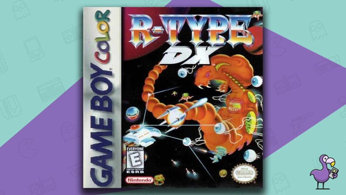 Best Gameboy Color Games - R-Type DX game case cover art
