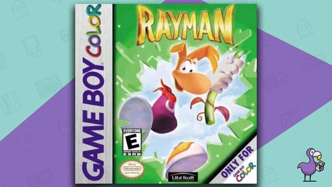 Best Gameboy Color Games - Rayman game case cover art