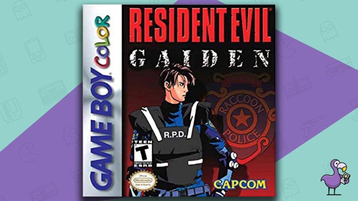 Best Gameboy Color Games - Resident Evil: Gaiden game case cover art