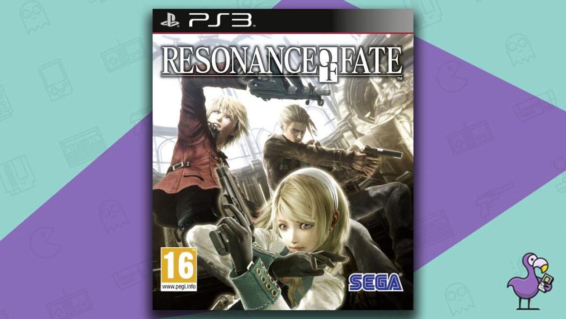 Best PS3 RPG Games - Resonance Of Fate game case cover art