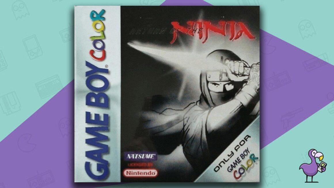 Best Gameboy Color Games - Return of the Ninja game case cover art