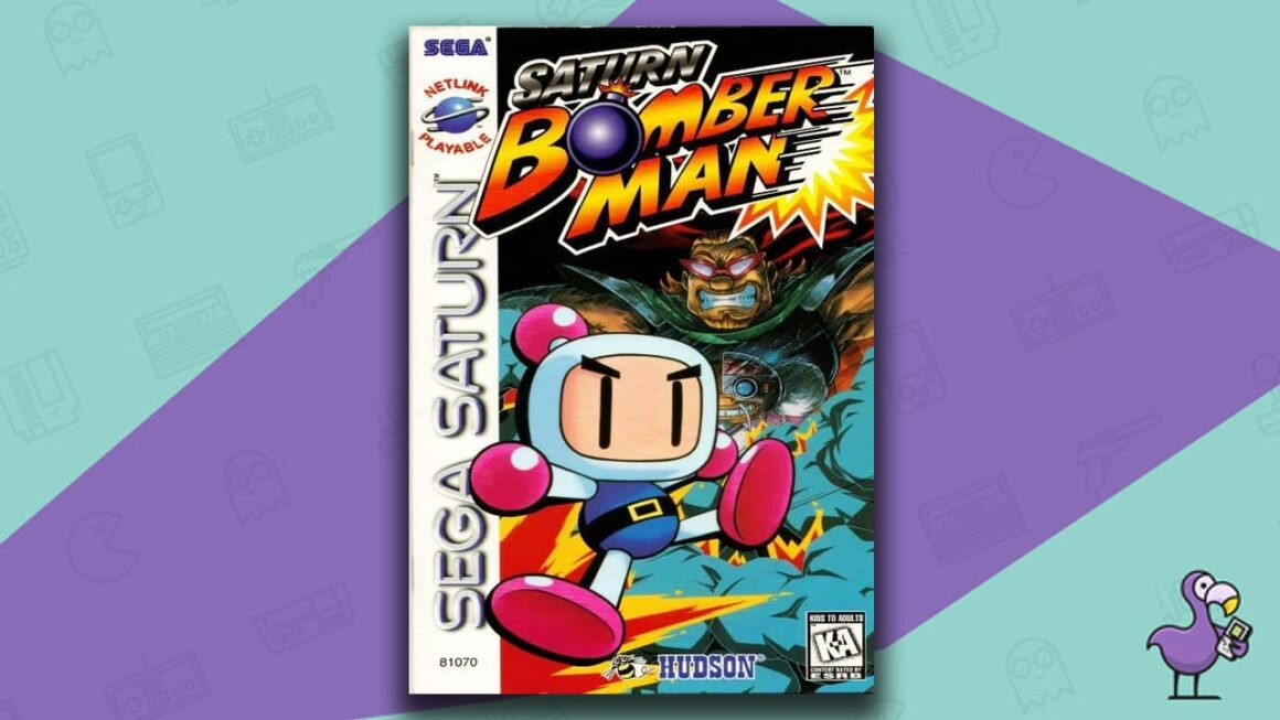 Best Sega Saturn Games - Saturn Bomber Man game case cover art