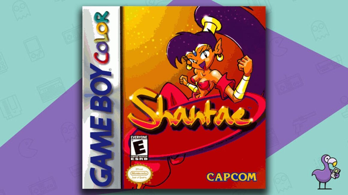 Best Gameboy Color Games - Shantae game case cover art