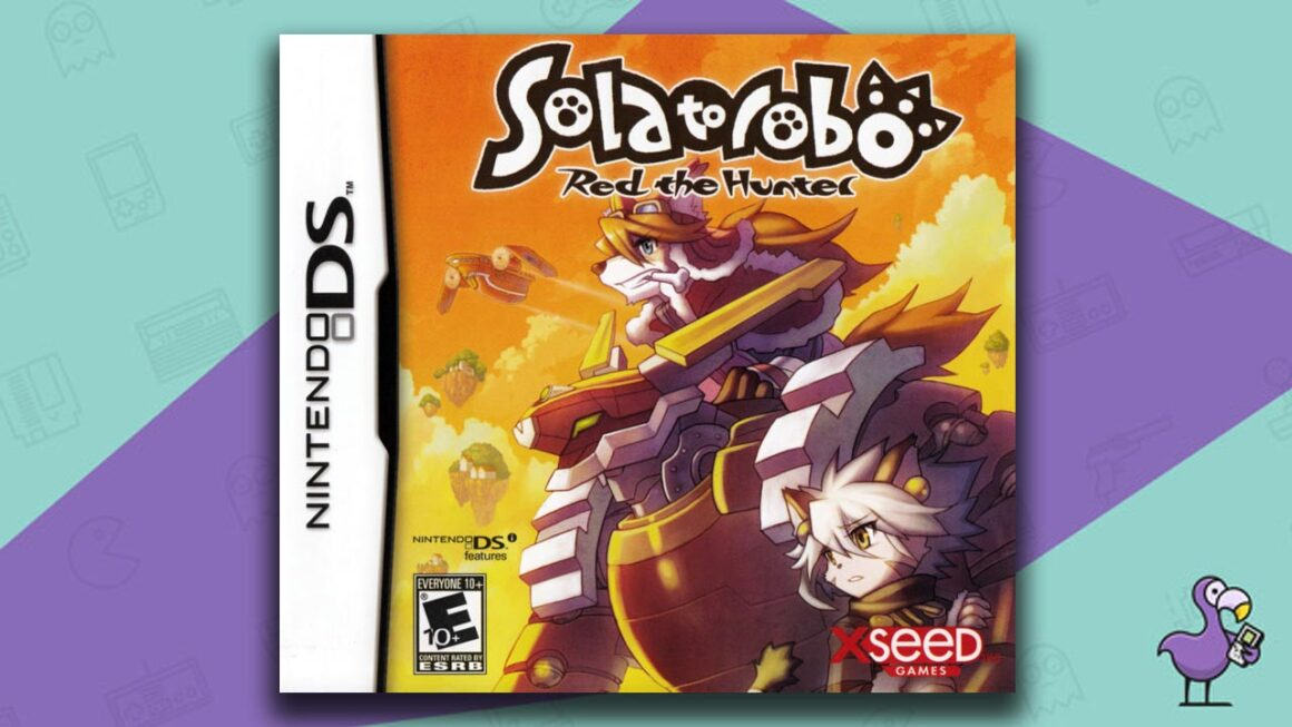 Rare Nintendo DS Games - Solatorobo: Red the Hunter game case cover art