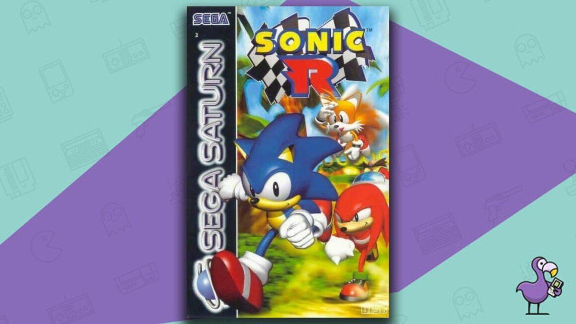 Best Sega Saturn Games - Sonic R Game Case Cover Art