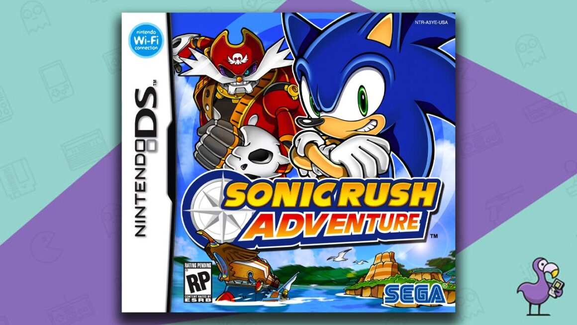 Best Nintendo DS Games - Sonic Ruch Adventure Game Case Cover Art
