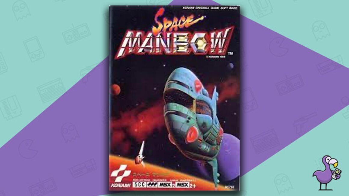 Best MSX Games - Space Manbow game case cover art