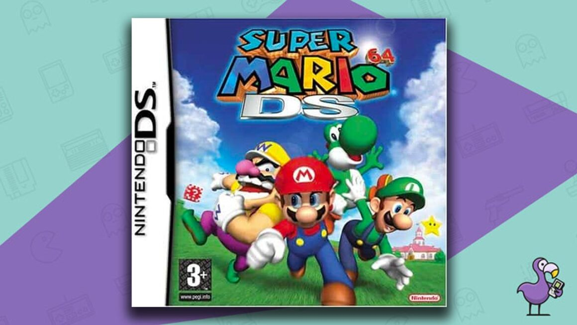 Best Nintendo DS Games - Super Mario 64 DS game case cover art