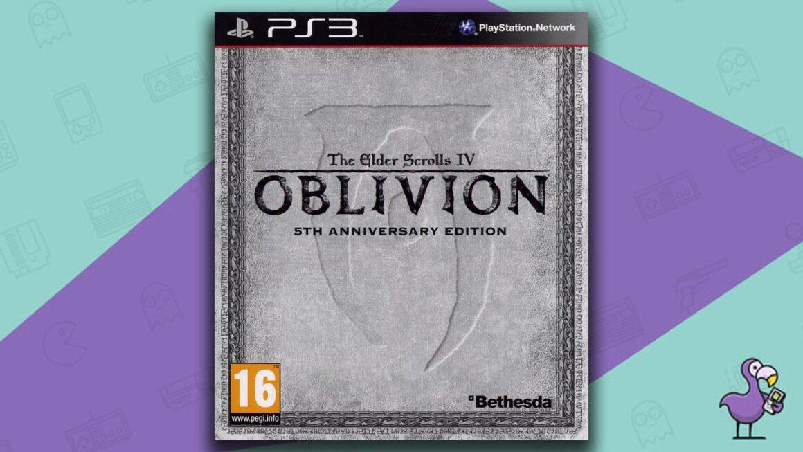 Best PS3 RPG Games - The Elder Scrolls IV: Oblivion game case cover art
