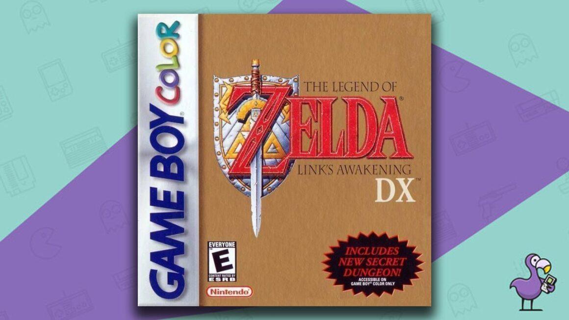 Best Gameboy Color Games - The Legend of Zelda: Link's Awakening DX game case cover art
