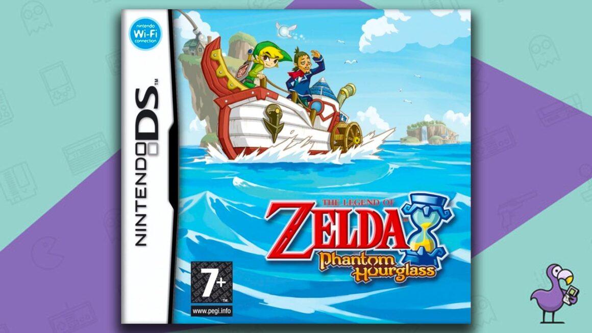 Best Nintendo DS Games - The Legend of Zelda: Phantom Hourglass game case cover art