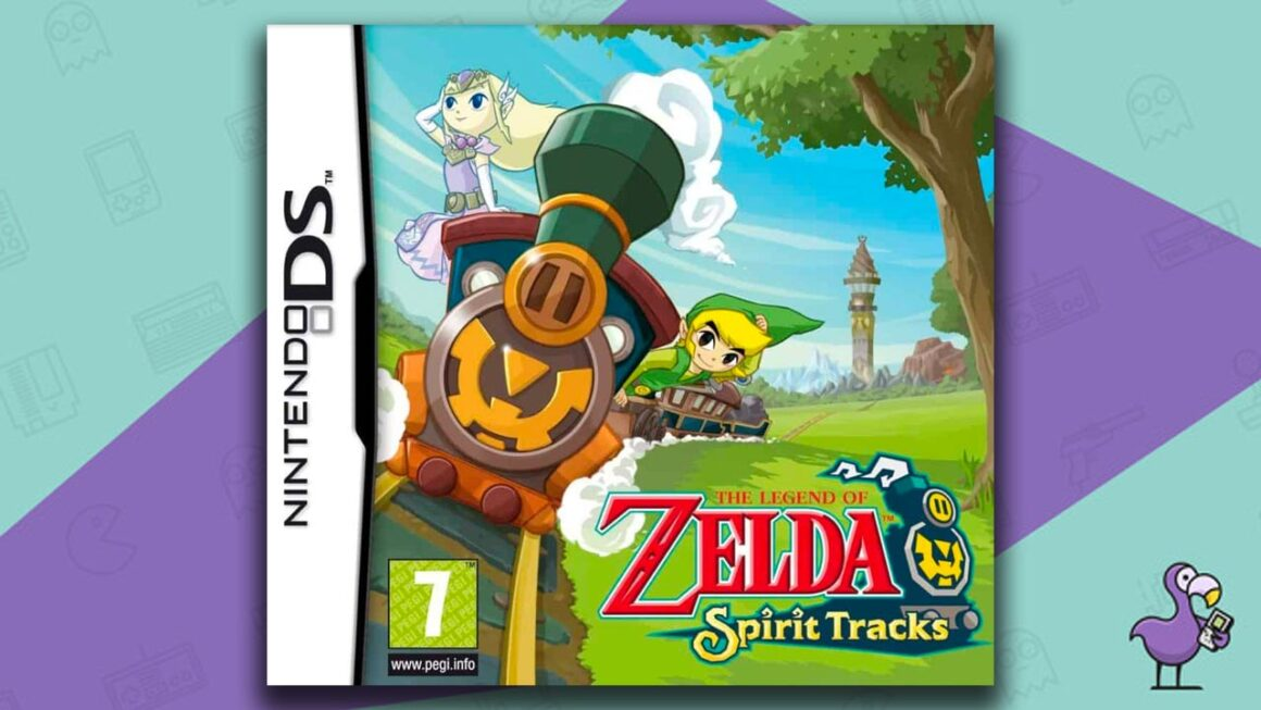 Best Nintendo DS Games - The Legend of Zelda: Spirit Tracks game case cover art