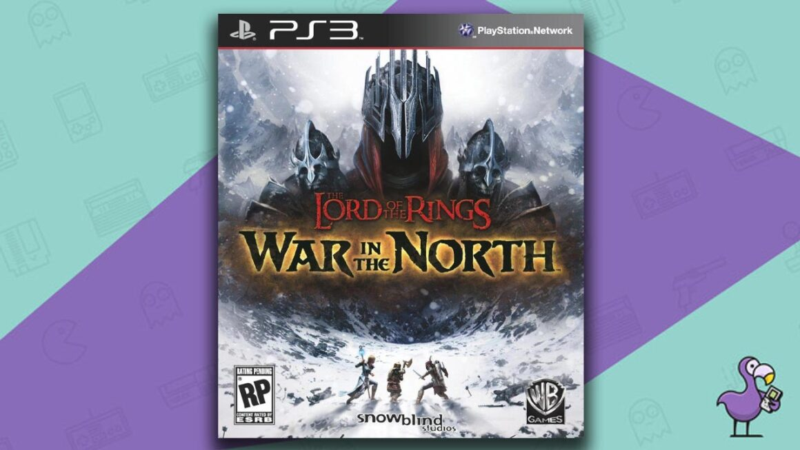 Best PS3 RPG Games - The Lord Of The Rings: War In the North game case cover art