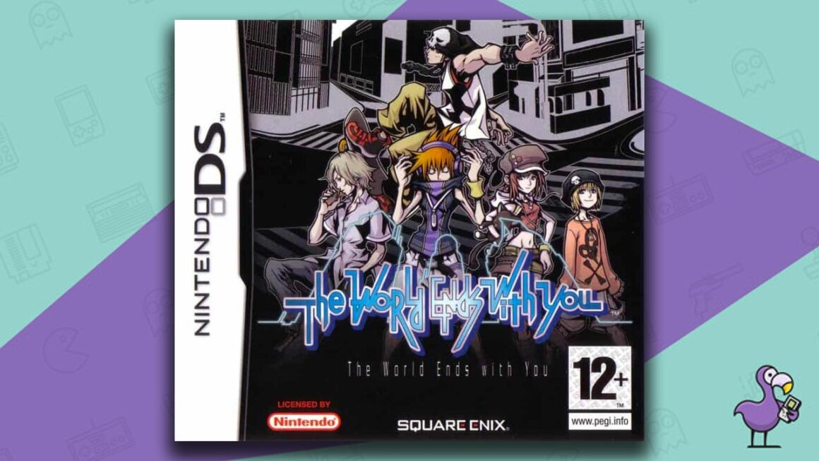 Best Nintendo DS Games - The World Ends With You Game Case Cover Art