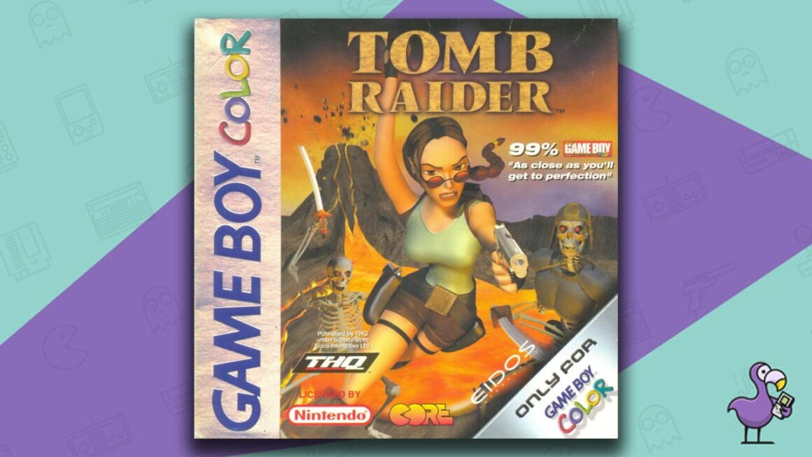 Best Gameboy Color Games - Tomb Raider Game Case Cover Art