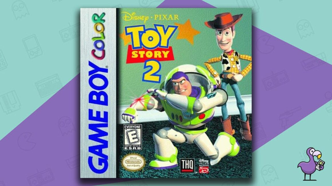 Best Gameboy Color Games - Toy Story 2 game case cover art