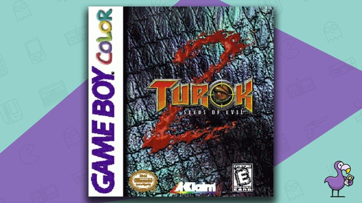 Best Gameboy Color Games - Turok 2: Seeds of Evil game case cover art