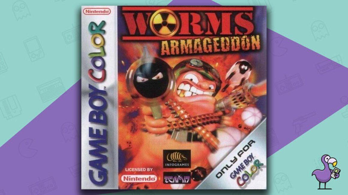 Best Gameboy Color Games - Worms: Armageddon game case cover art