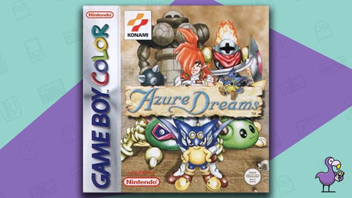 Best Gameboy Color Games - Azure Dreams game case cover art
