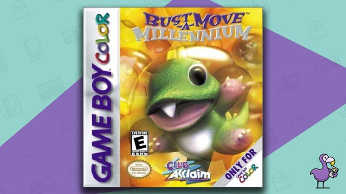 Best Gameboy Color Games - Bust-A-Move Millennium Game Case Cover Art