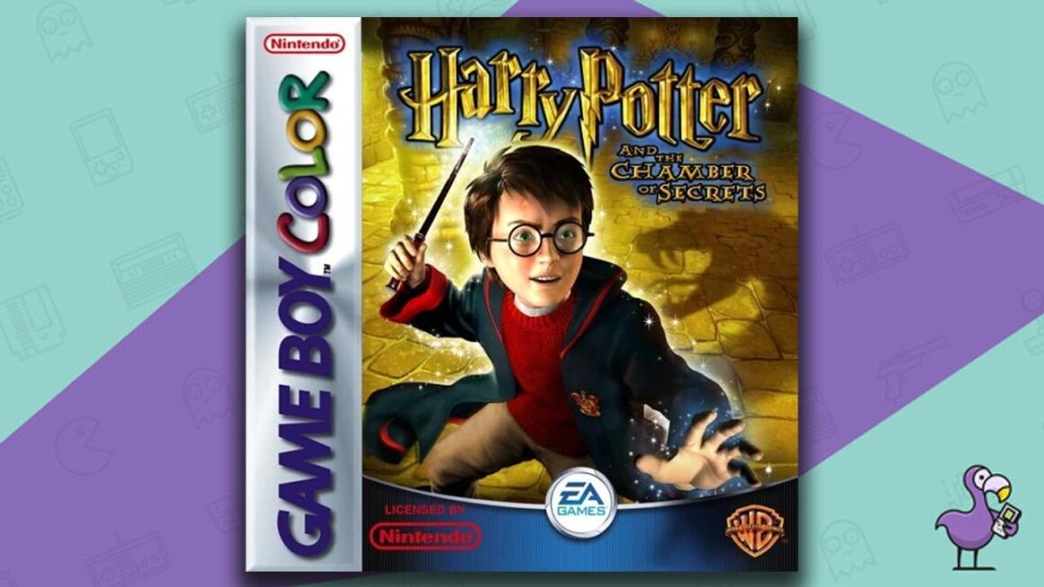 Best Gameboy Color Games - Harry Potter and the Chamber of secrets game case cover art