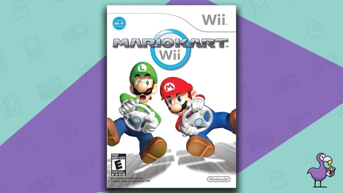 Best Multiplayer Wii games - Mario Kart Wii Game Case Cover Art