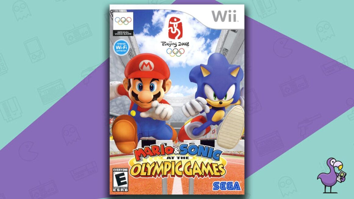 Best Multiplayer Wii games - Mario & Sonic at the Olympic Games game case cover art