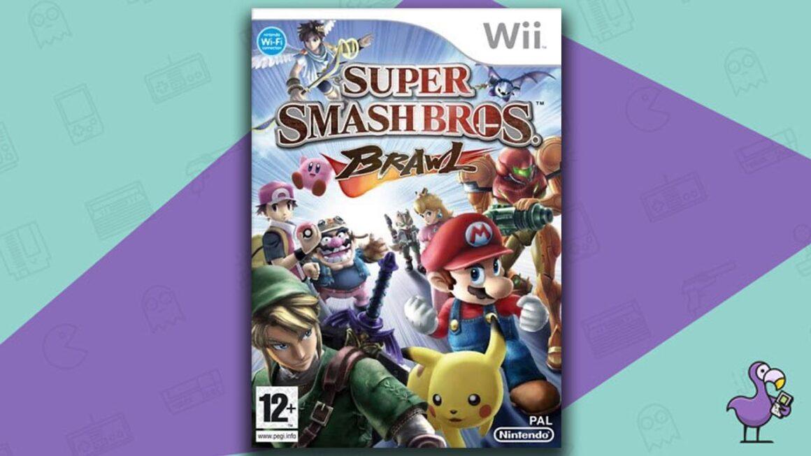 Best Multiplayer Wii games - Super Smash Bros Brawl game case cover art