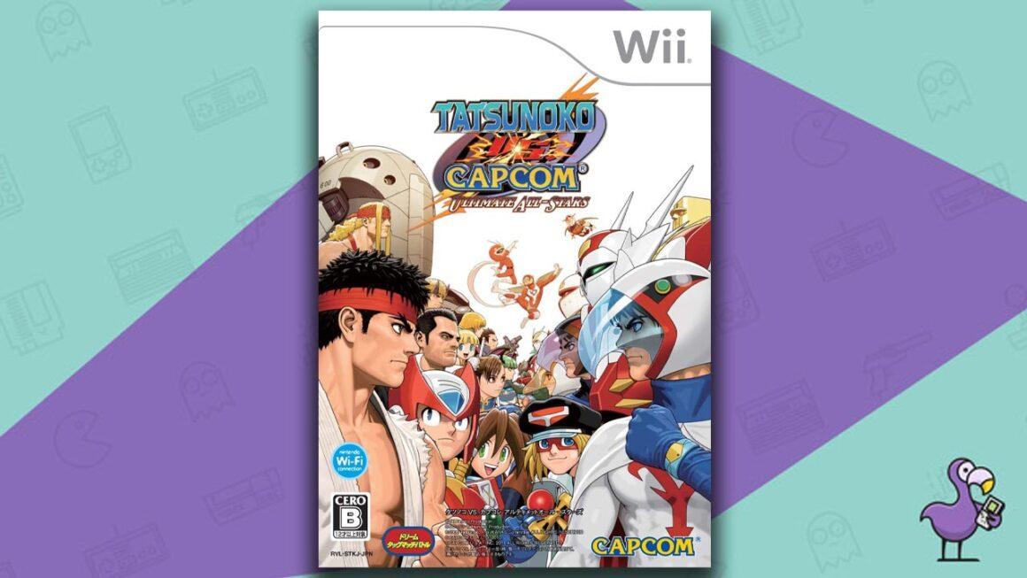 Best Multiplayer Wii games - Tatsunoko Vs Capcom Ultimate All Stars game case cover art