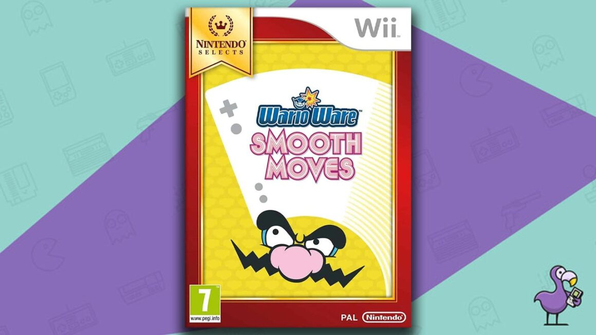 Best Multiplayer Wii games - WarioWare Smooth Moves game case cover art
