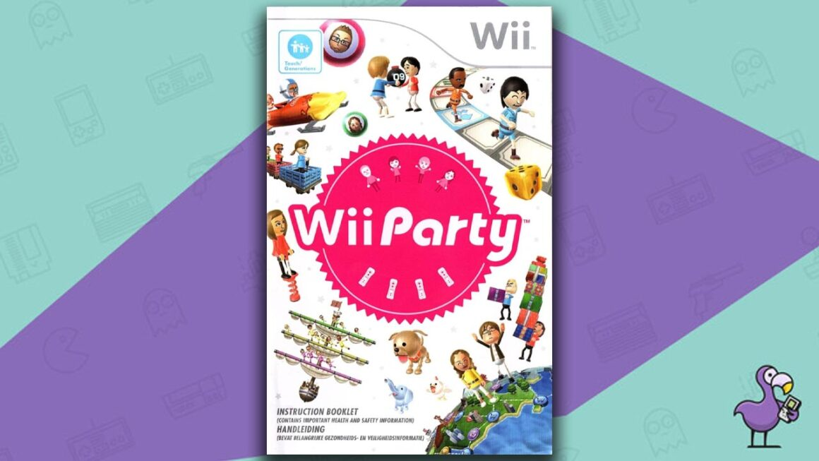 Best Multiplayer Wii games - Wii Party game case cover art