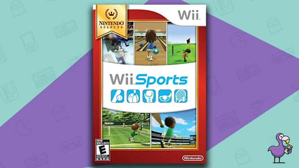 Best Multiplayer Wii games - Wii Sports game case cover art