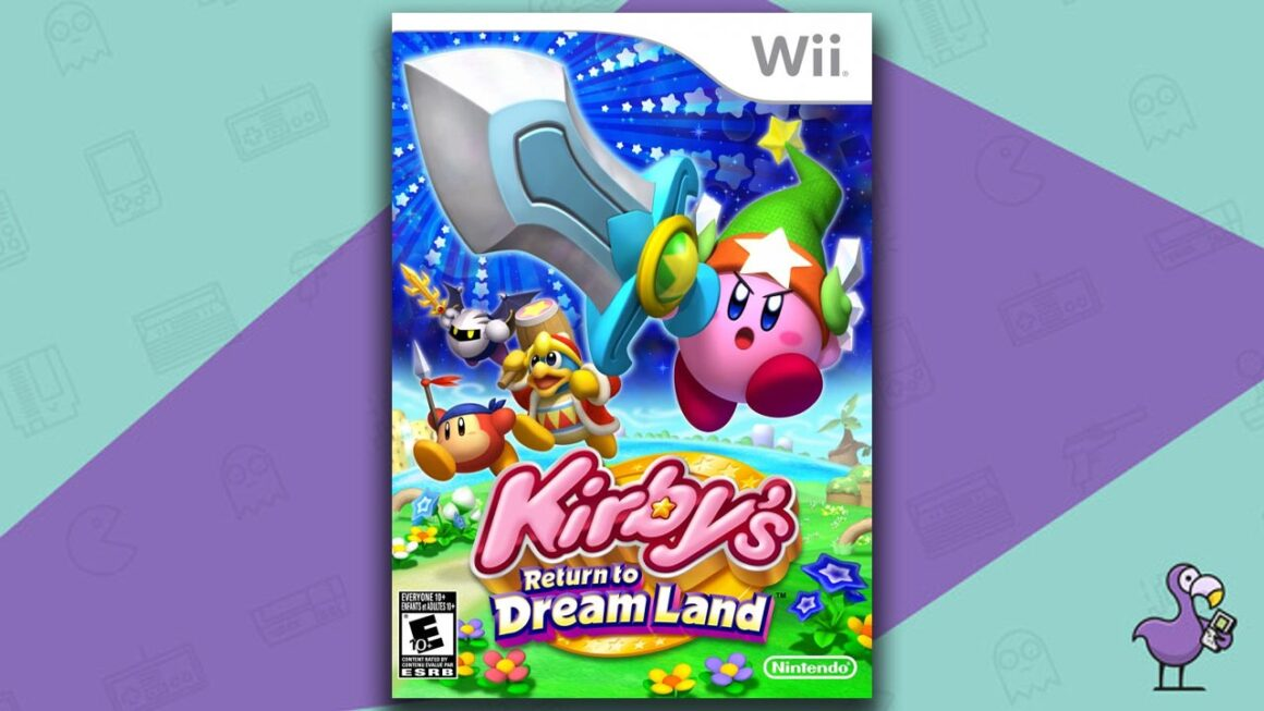 Best Multiplayer Wii games - Kirby's Return to Dream Land game case cover art