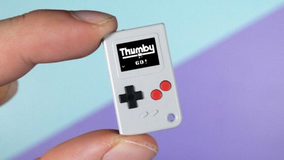 smallest games console